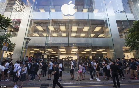apple x hong kong iphone 7 and the new apple watch released across the u s