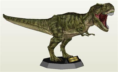 Papercraft Dinosaur - dinosaur papercraft tyrannosaurus rex paper model by