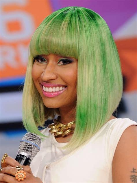 Nicki Minaj Bob Hairstyle nicki minaj hairstyles