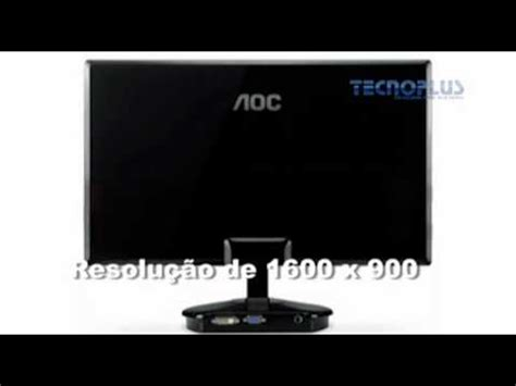 Aoc 20 Inch E2043fk by Aoc 20 Inch Widescreen Led Monitor Review Doovi