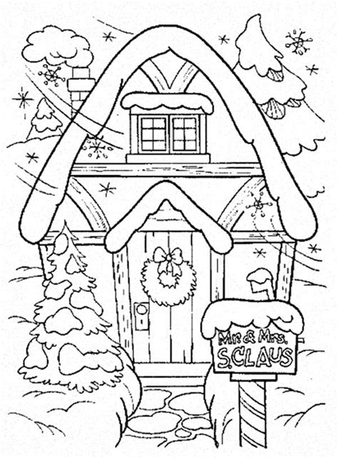 coloring page christmas house gingerbread house color sheet free coloring pages on art