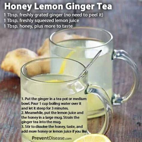 Cinnamon And Honey Detox Tea by 17 Best Ideas About Honey Lemon Tea On Honey