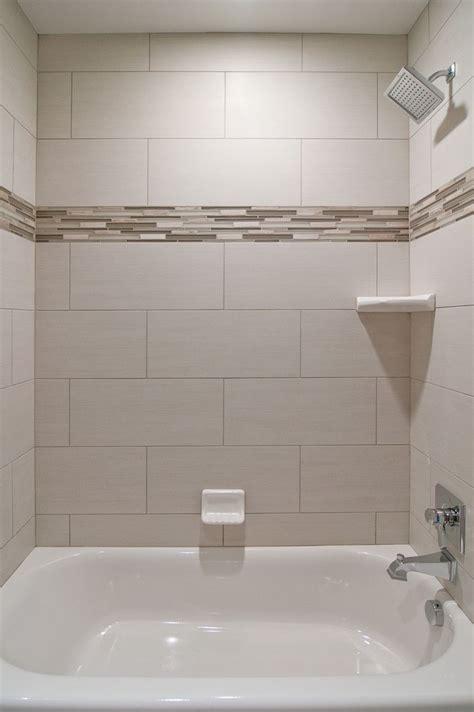 love oversized subway tiles   bathroom
