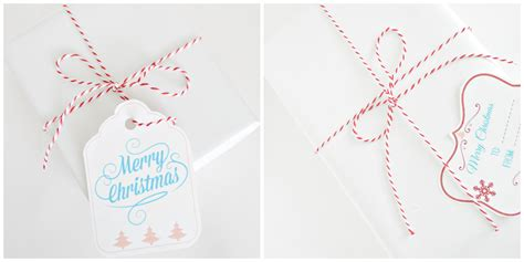 simple printable christmas gift tags simple christmas wrapping and free printable