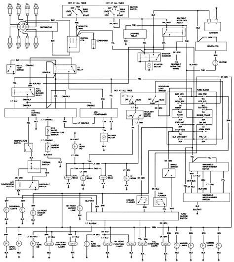 automotive service manuals 1998 cadillac eldorado parking system repair guides wiring diagrams wiring diagrams autozone com