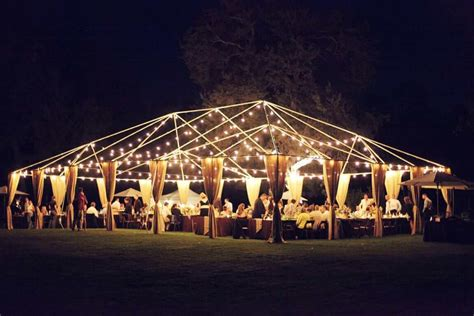 Easy Glamorou Diy Outdoor Wedding Lighting Warisan Diy Outdoor Wedding Lighting