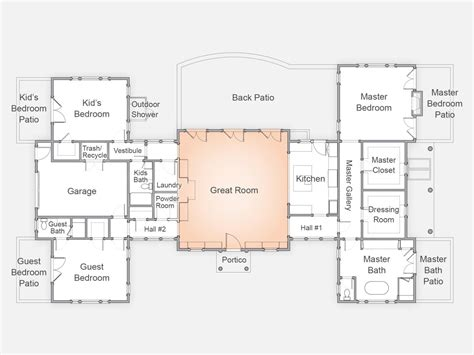 great room floor plan hgtv dream home 2015 floor plan building hgtv dream home