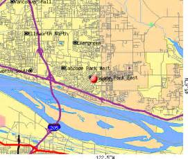 Vancouver Zip Code Map by Vancouver Washington Map