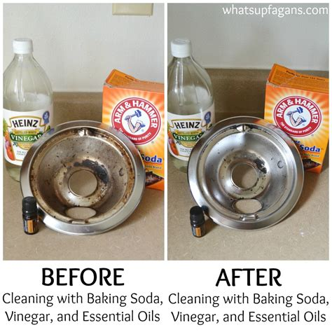 vinegar and baking soda to clean bathtub the best and worst methods of cleaning stove drip pans