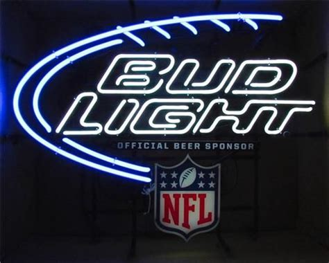 bud light for sale bud light nfl neon bar sign for sale neon signs