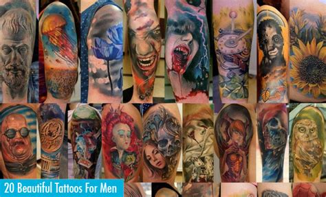 beautiful tattoos for mens 20 beautiful tattoos for for your inspiration