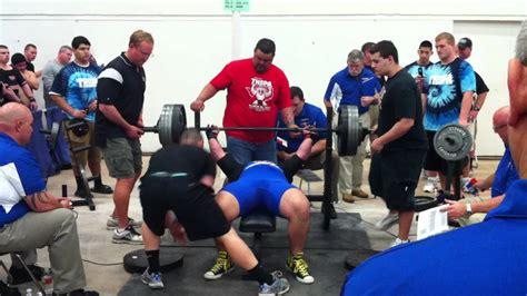 texas high school bench press record matt poursoltani all time bench press record youtube