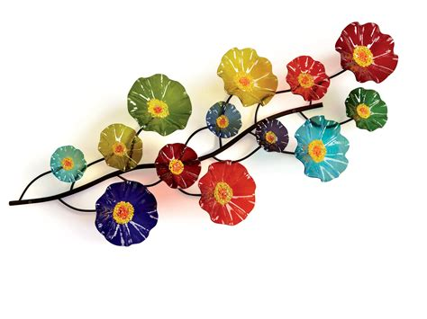 wall art designs blown glass wall art picture of hand prism wall vine by scott johnson and shawn johnson art