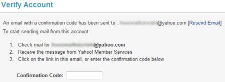 yahoo email verification code not working setup mail forwarding from yahoo mail to another email address