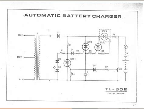 automatic baterai charger tl  kumpulan skema elektronika  hoby