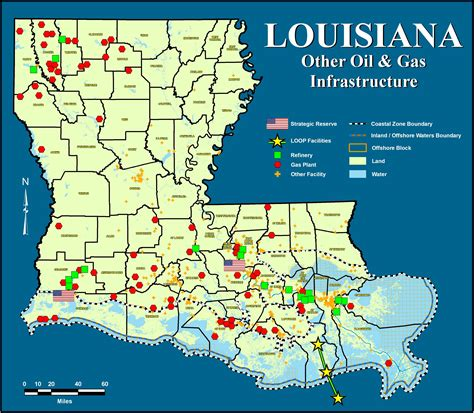 louisiana industry map an alliance for the future