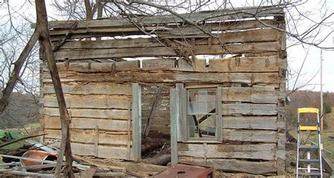 The Cabin In The Woods Rotten by What This Did To A Rotten Cabin He Found In The Woods