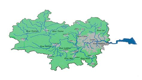river thames catchment area map firma regions