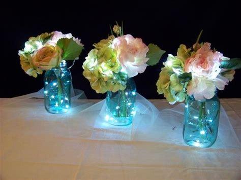 jar centerpieces for bridal shower