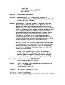 Probation Officer Sle Resume by Officer Resume Sales Officer Lewesmr