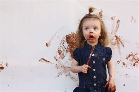 Messy Blog Header Fun   A Little Baker in Training