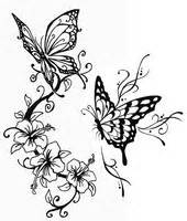 coloring pages butterflies