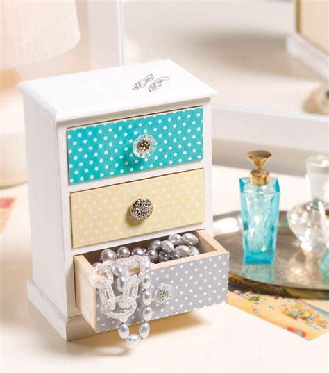 Jo In Storage Jewelry Box Purple create this adorable and unique jewelry box with this