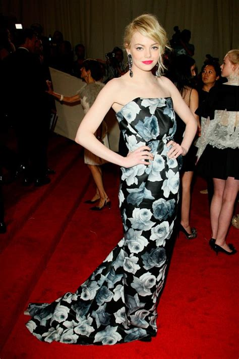 emma stone costume the most fabulous and the best met gala dresses of all time