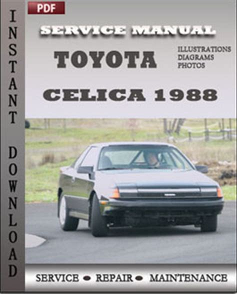 how to download repair manuals 1976 toyota celica lane departure warning toyota celica 1988 engine service repair servicerepairmanualdownload com