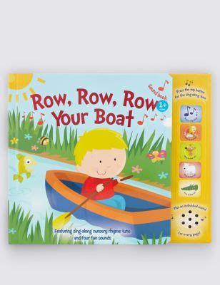 row row your boat sound book row row row your boat sound book m s