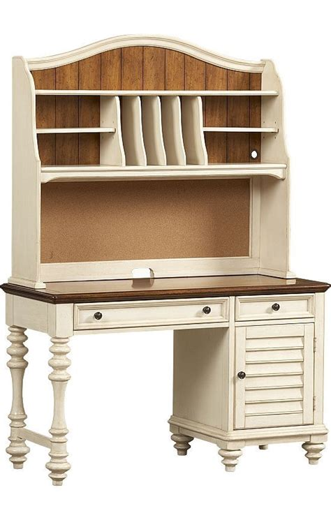 Distressed Desk With Hutch Bedrooms Southport Desk Hutch Distressed White Havertysrefresh Future House Ideas