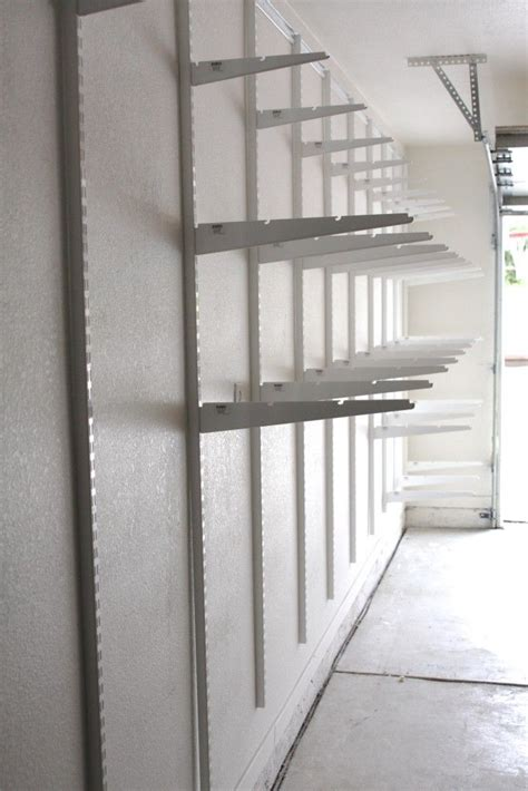best 25 garage shelving ideas on building