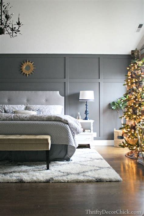 dark gray accent wall from thrifty decor chick biggest changes in 2014 peppercorn walls sherwin