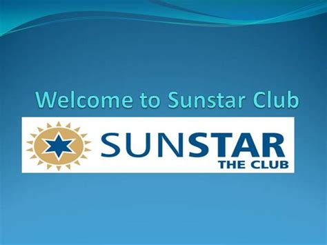 key club powerpoint template sunstar the club membership services authorstream