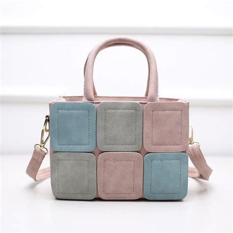 Tas Wanita Soft kgs tas wanita casual soft colorful mini handbag pink