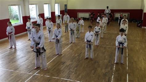 pattern chon ji youtube junior taekwon do class pattern chon ji tul youtube
