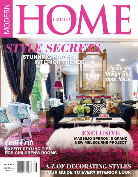 home decorating magazines australia top 100 interior design magazines you must have part 4