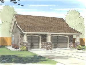 The Garage Plan Shop by 3 Car Garage Plans Three Car Garage Plan With Craftsman