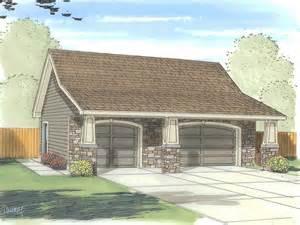 Car garage plans three car garage plan with craftsman styling