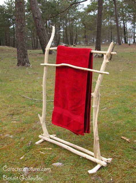 Porte Serviette Bois Flotté porte serviettes en bois flott 233 caract 232 re naturel http