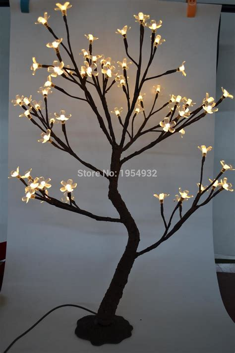 Led Light Tree by Indoor Outdoor 64 Led Cherry Blossom Tree Light In 70cm