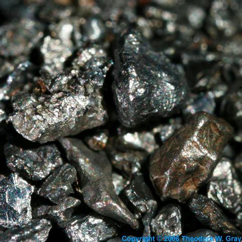 Table Rock Mo Osmiridium Aka Iridosmine A Sample Of The Element Iridium