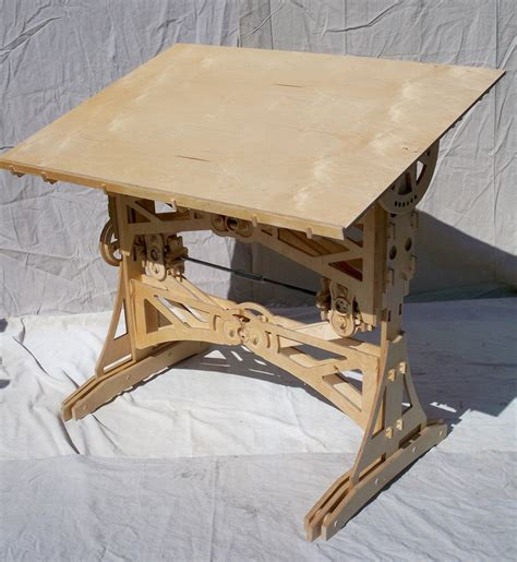 Sean Hendrick S Diy Mechanized Drafting Table Core77 How To Build Drafting Table