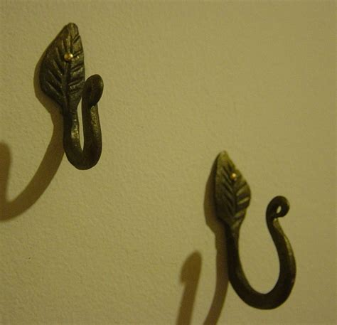 hand wall hook wall hooks hand forged my products pinterest