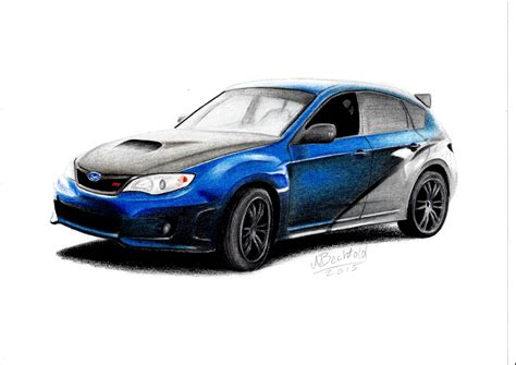 Subaru Wrx Sti Fast Furious Series subaru impreza wrx sti fast furious 7 car drawing by maxbechtold on deviantart