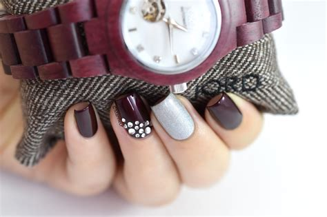 Ongles Décorés by Purpleheart Of Pearl Jord Woodwatch Cora
