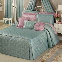 Tailored Bedspreads Fitted Bedspreads Sweet Pink And Green