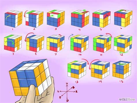 pattern for rubik s triangle 7 formas de hacer patrones con el cubo de rubik wikihow