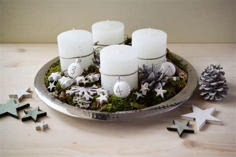 Weihnachtlich Dekorieren Wohnung by Adventkranz Mintnmelon