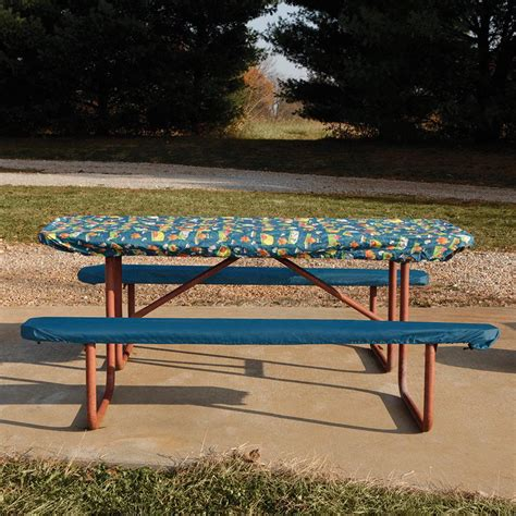 picnic bench cover cfire picnic tablecloth and seat covers